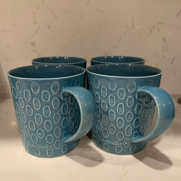 Starbucks set of 4 mugs by Design House Stockholm